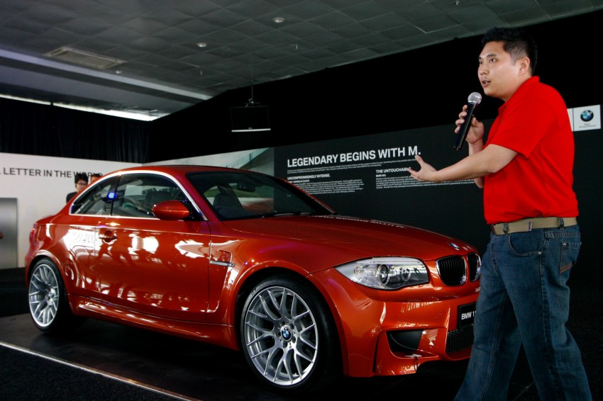 BMW 1 Series M Coupe: only 3 for Malaysia, RM509k Image #113390