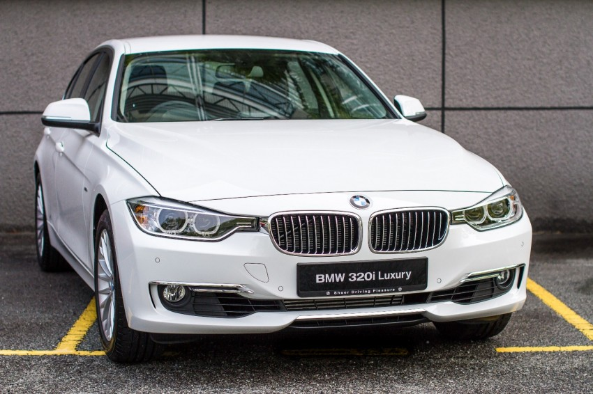 F30 BMW 320i Luxury and Sport launched: RM239k Image #131913