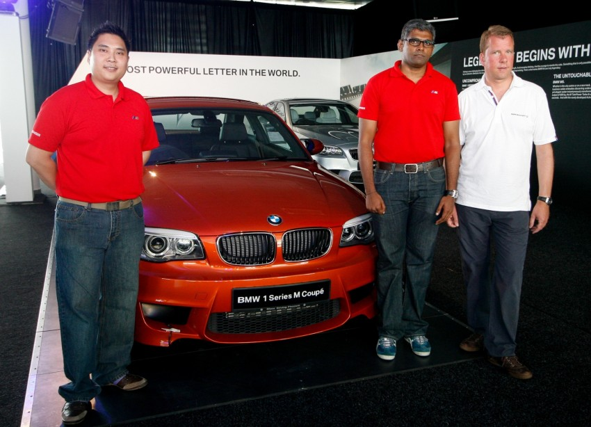 BMW 1 Series M Coupe: only 3 for Malaysia, RM509k Image #113391