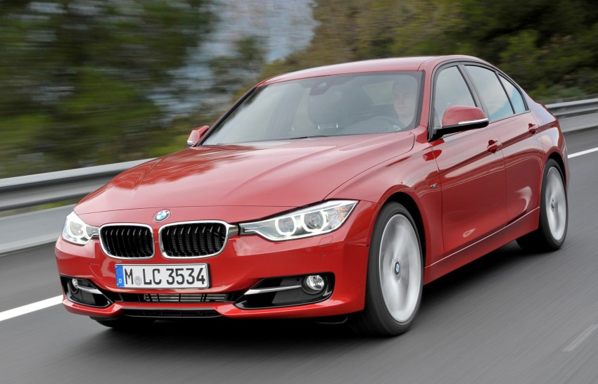 BMW 328i and 320d: locally-assembled F30 launched Image #110357