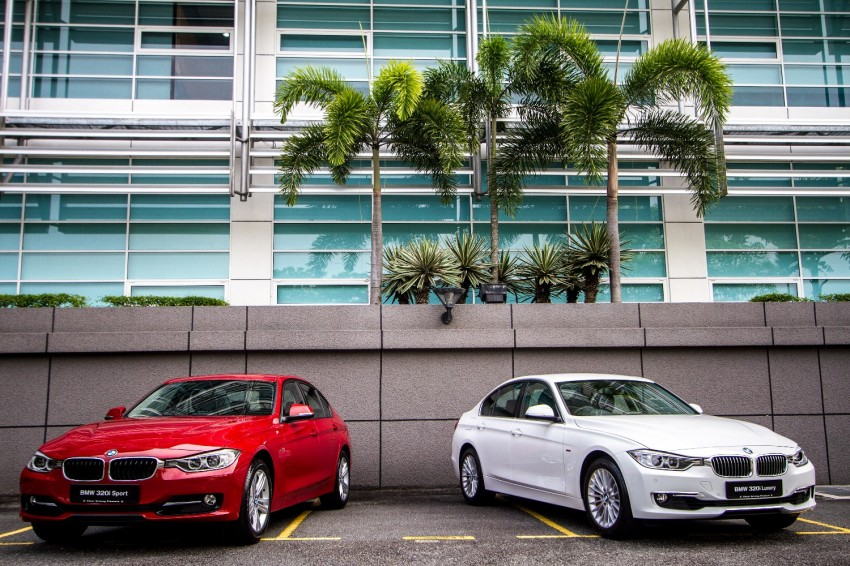 F30 BMW 320i Luxury and Sport launched: RM239k Image #131914