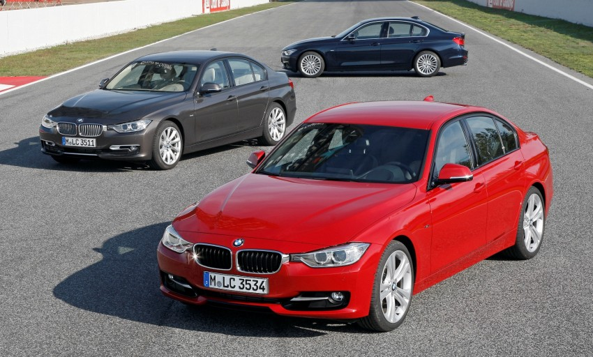 BMW 328i and 320d: locally-assembled F30 launched Image #110355