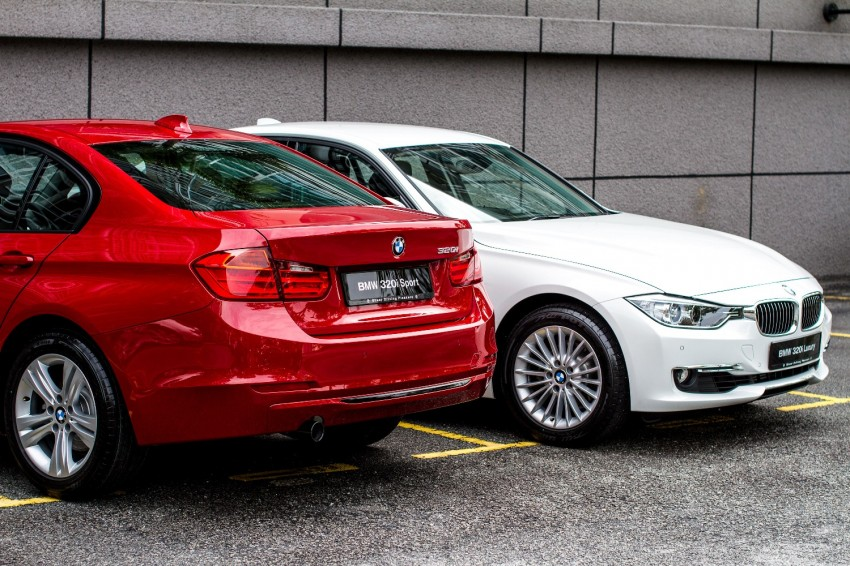 F30 BMW 320i Luxury and Sport launched: RM239k Image #131915