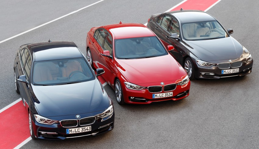 BMW 328i and 320d: locally-assembled F30 launched Image #110353