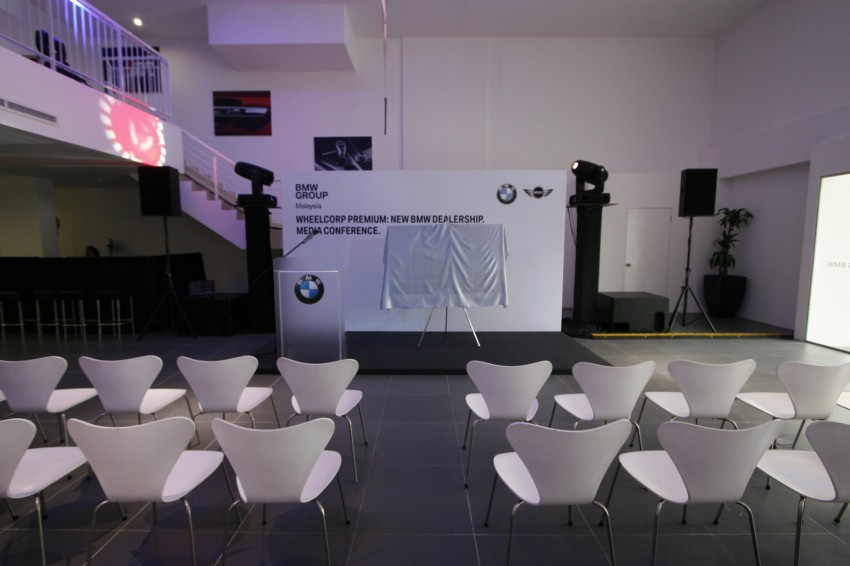 Wheelcorp Premium opens BMW 4S in Setia Alam Image #108359