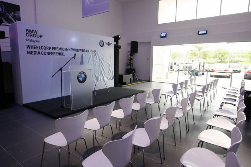 Wheelcorp Premium opens BMW 4S in Setia Alam Image #108360