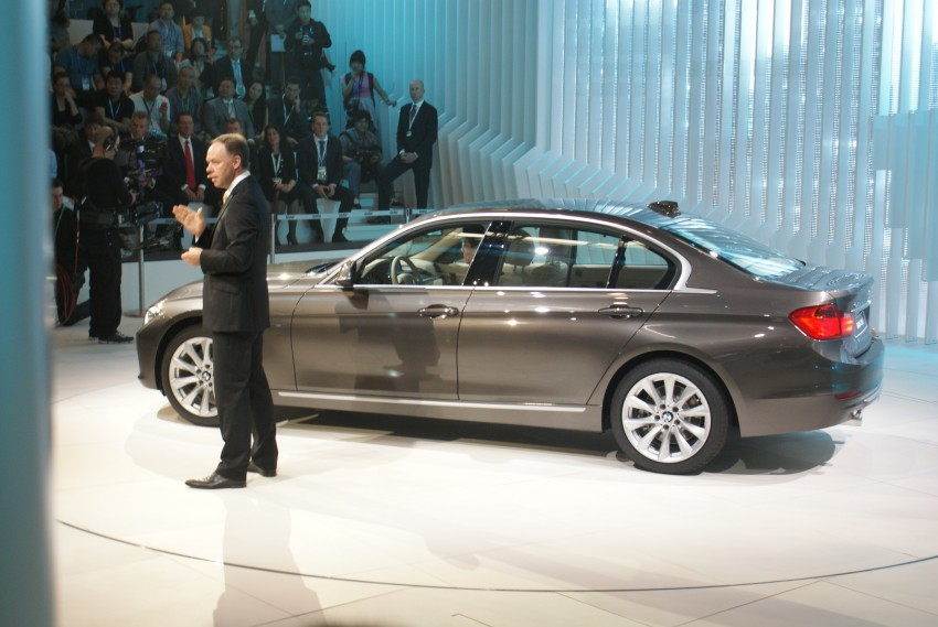 Long wheelbase BMW 3-Series – made in China for China Image #103247