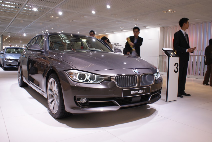 Long wheelbase BMW 3-Series – made in China for China Image #103244