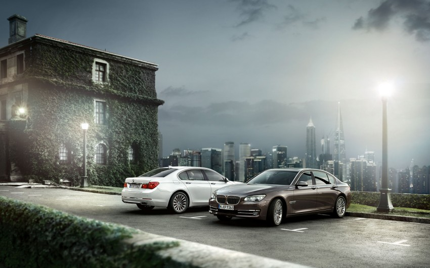 2012 BMW 7-Series LCI gets updated inside and out Image #108791