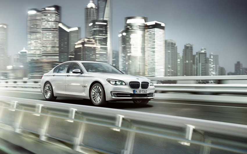2012 BMW 7-Series LCI gets updated inside and out Image #108788