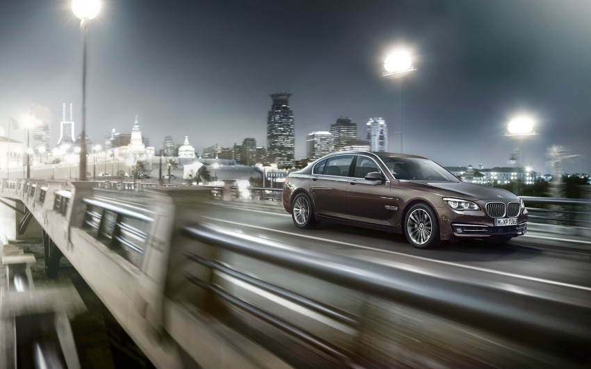 2012 BMW 7-Series LCI gets updated inside and out Image #108783