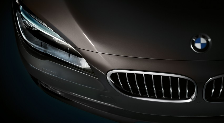 2012 BMW 7-Series LCI gets updated inside and out Image #108777