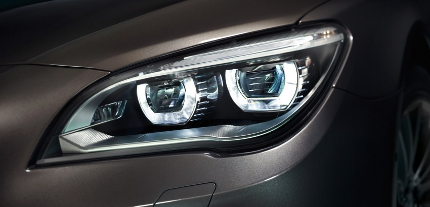 2012 BMW 7-Series LCI gets updated inside and out Image #108774