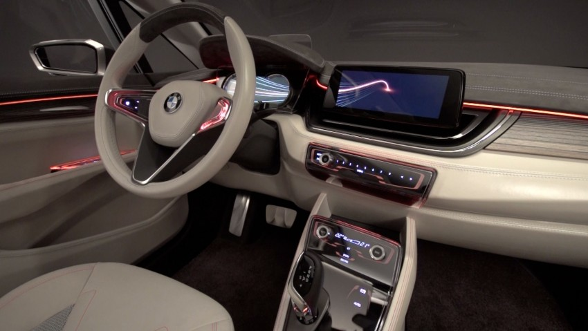 BMW Concept Active Tourer: Munich's B-Class competitor is front wheel drive! Image #131586