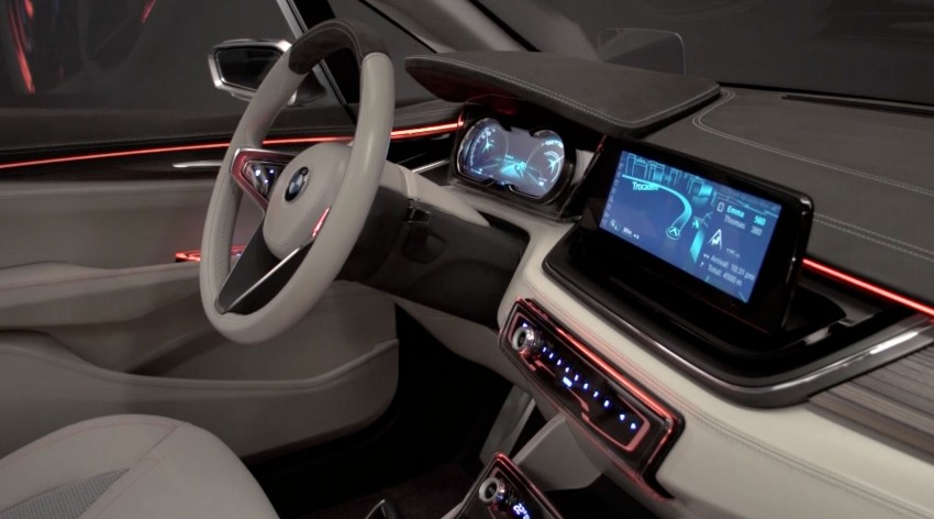 BMW Concept Active Tourer: Munich's B-Class competitor is front wheel drive! Image #131584