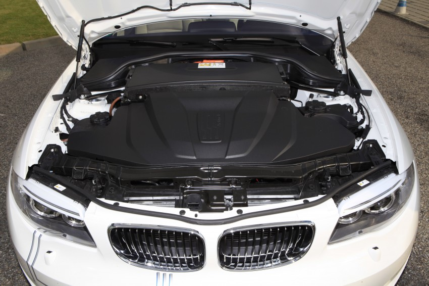 DRIVEN: BMW ActiveE, an electric 1-Series coupe Image #73196