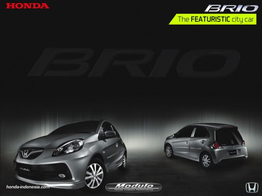 Honda Brio 1.3L with Modulo bodykit in Indonesia Image #123811