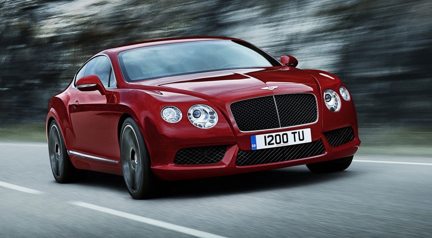 Bentley Continental GT V8 and GTC arrives in Malaysia Image #110056