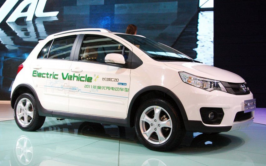 Great Wall C20 EV – an electric compact crossover Image #102554