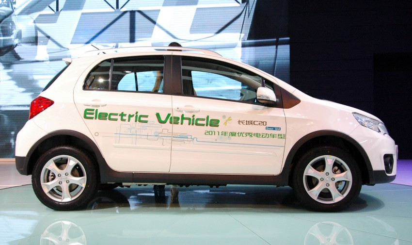 Great Wall C20 EV – an electric compact crossover Image #102557