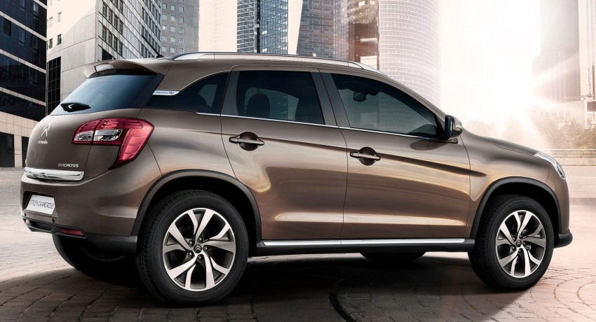 Citroen C4 Aircross – the French Mitsubishi ASX Image #70946
