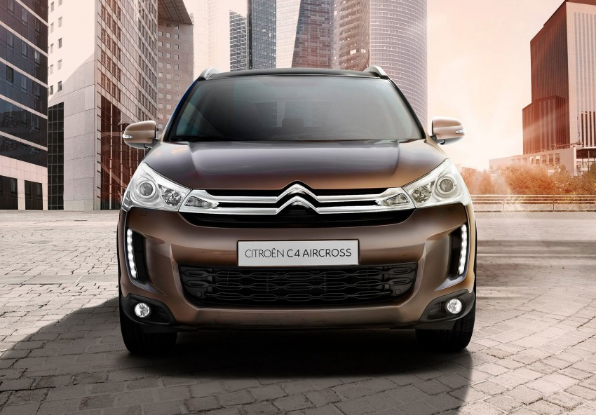 Citroen C4 Aircross – the French Mitsubishi ASX Image #70948