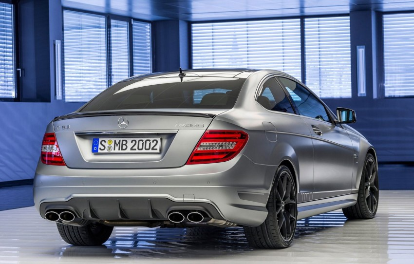 Mercedes-Benz C63 AMG Edition 507 – 50 hp more Image #152588