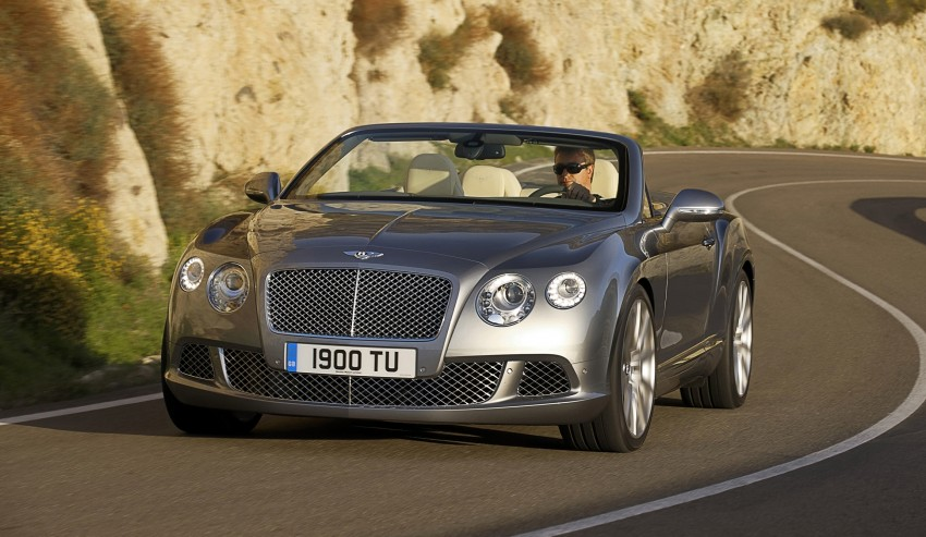 Bentley Continental GT V8 and GTC arrives in Malaysia Image #110067