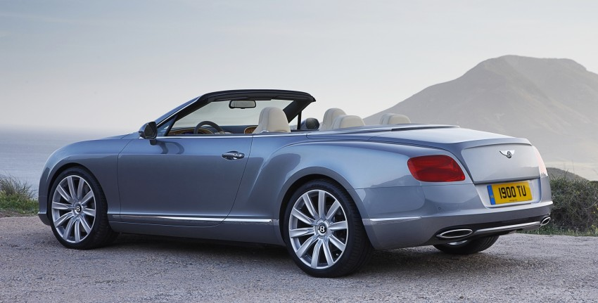Bentley Continental GT V8 and GTC arrives in Malaysia Image #110070