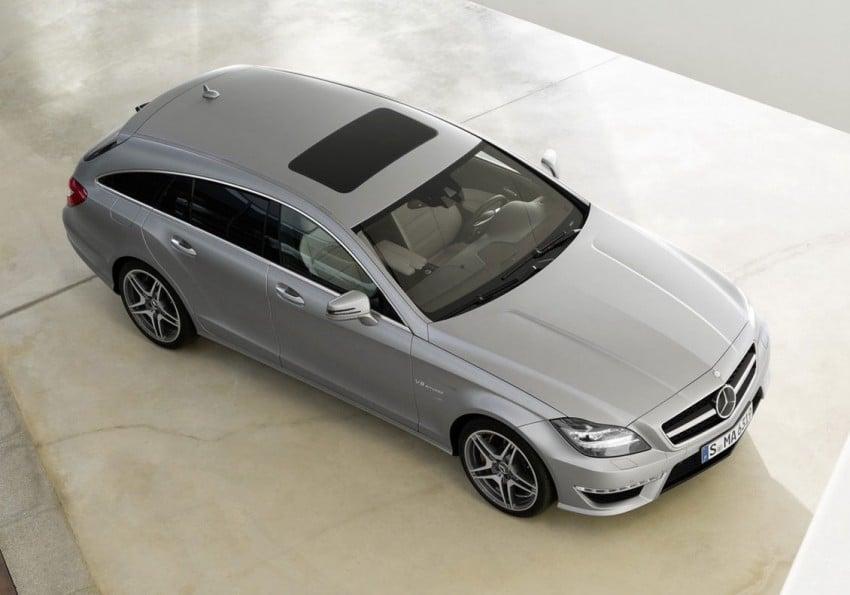 Mercedes-Benz CLS63 AMG Shooting Brake Image #116719