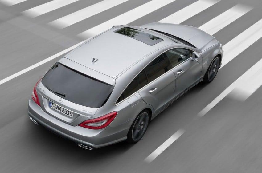 Mercedes-Benz CLS63 AMG Shooting Brake Image #116720