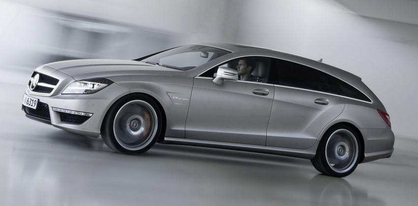 Mercedes-Benz CLS63 AMG Shooting Brake Image #116721