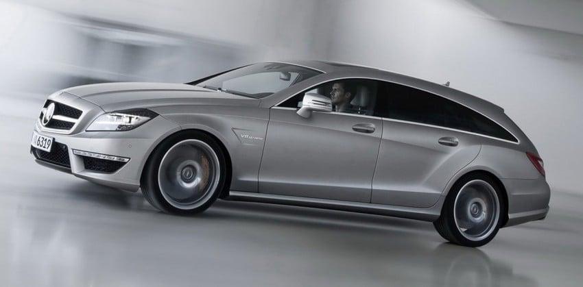 Mercedes-Benz CLS63 AMG Shooting Brake Image #116721