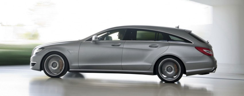 Mercedes-Benz CLS63 AMG Shooting Brake Image #116722