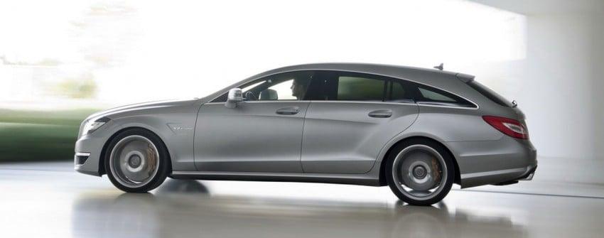 Mercedes-Benz CLS63 AMG Shooting Brake Image #116722