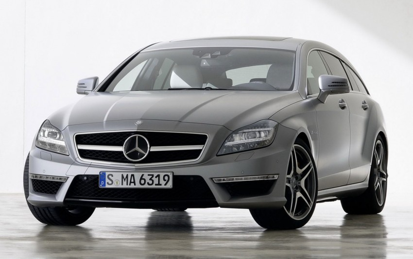 Mercedes-Benz CLS63 AMG Shooting Brake Image #116723
