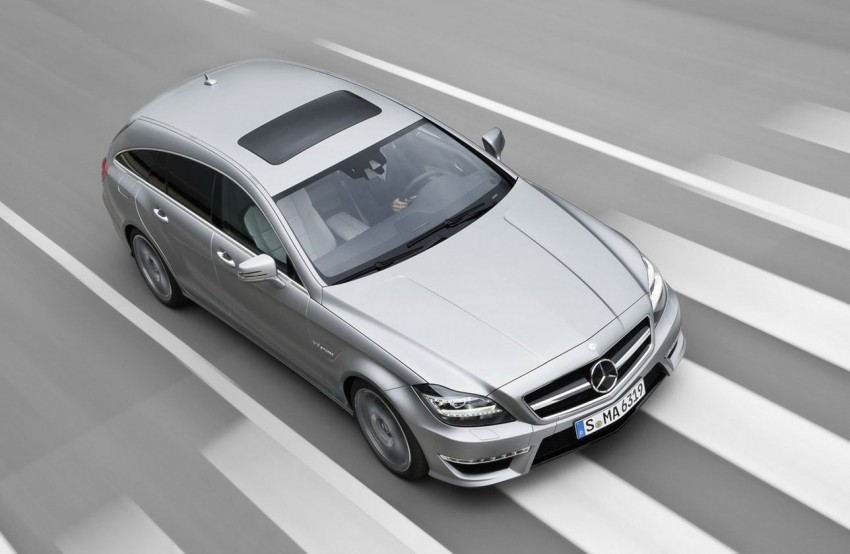 Mercedes-Benz CLS63 AMG Shooting Brake Image #116725