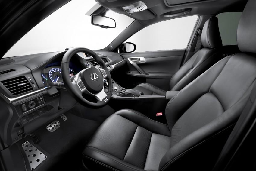 Lexus CT200h F Sport variant launched – RM207k Image #134389