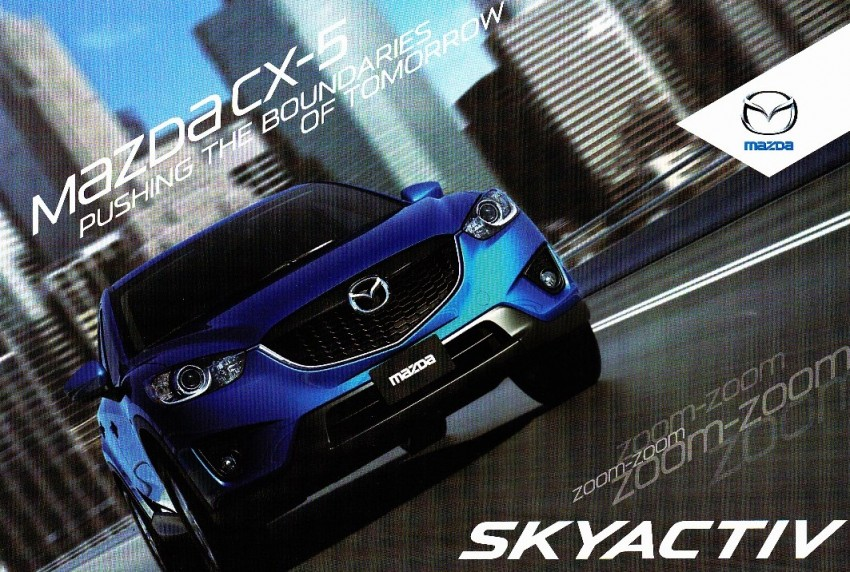 Mazda CX-5 brochure and price leaked – from RM159k Image #99988