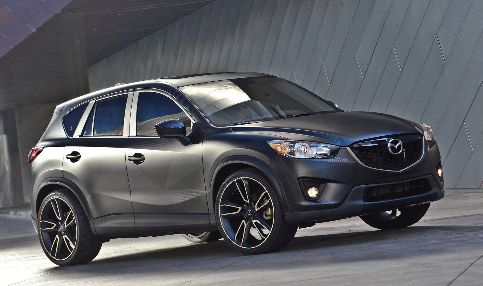 Sema 2012 Mazda Cx 5 Urban Concept Very Stealthy