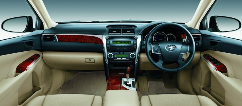 Toyota Camry XV50 launched – RM150k to RM181k Image #110033