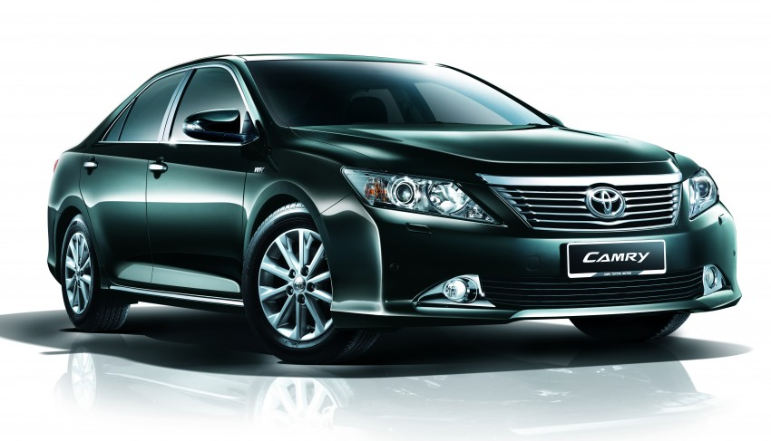 Toyota Camry XV50 launched – RM150k to RM181k Image #110017