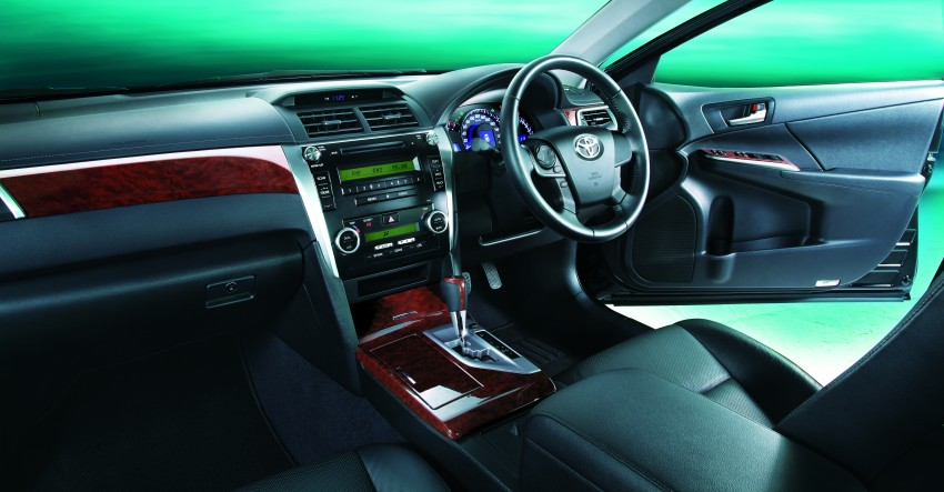 Toyota Camry XV50 launched – RM150k to RM181k Image #110025
