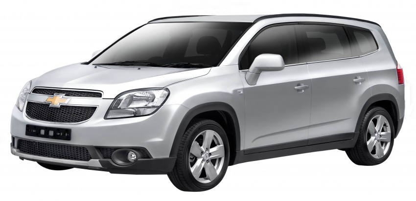 Chevrolet Orlando officially launched – RM118,888 Image #145857