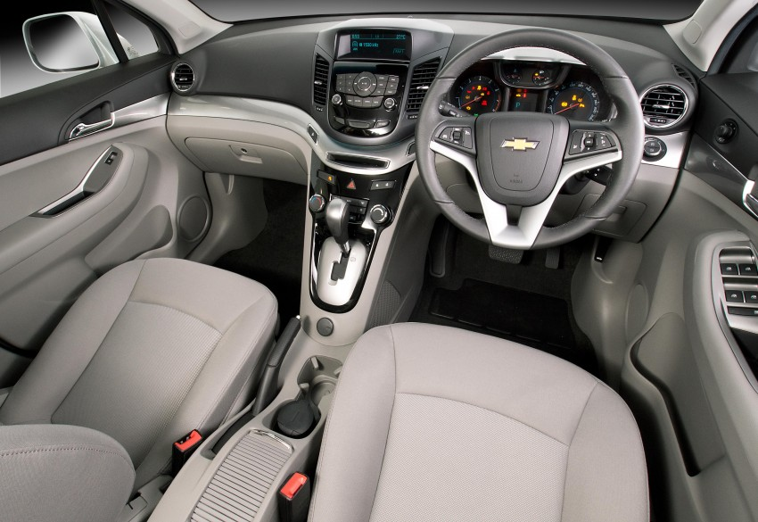 Chevrolet Orlando officially launched – RM118,888 Image #145879