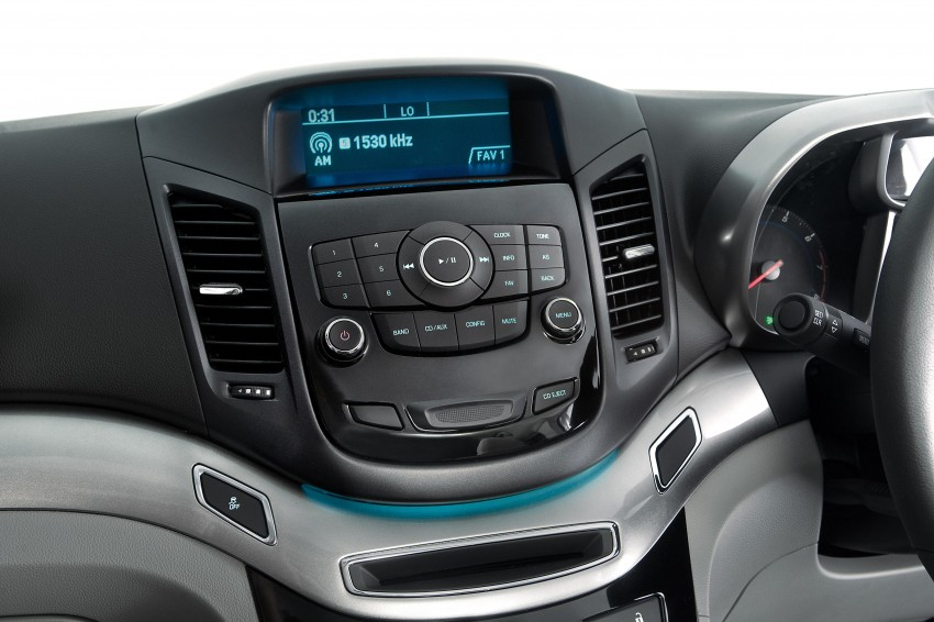 Chevrolet Orlando officially launched – RM118,888 Image #145863