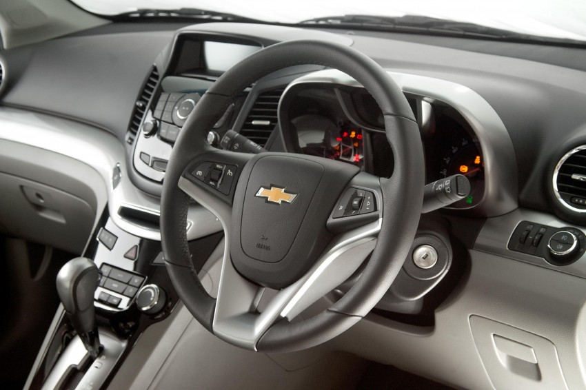 Chevrolet Orlando officially launched – RM118,888 Image #145866