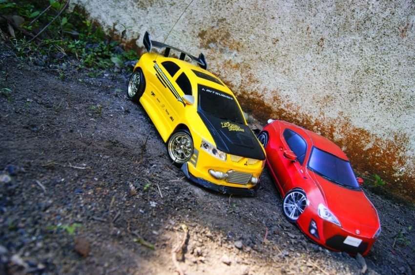 Toyota 86 assembled. Photo taken. Prize will be won. Image #104249