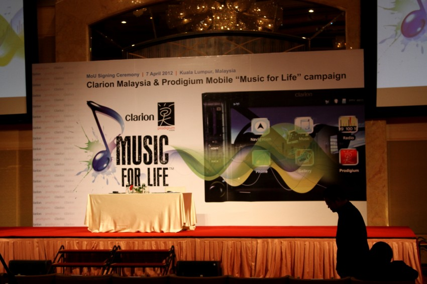 Clarion and Prodigium Mobile sign MoU for in-car DRM-free MP3 music store in Malaysia – 18,000,000 songs! Image #100124