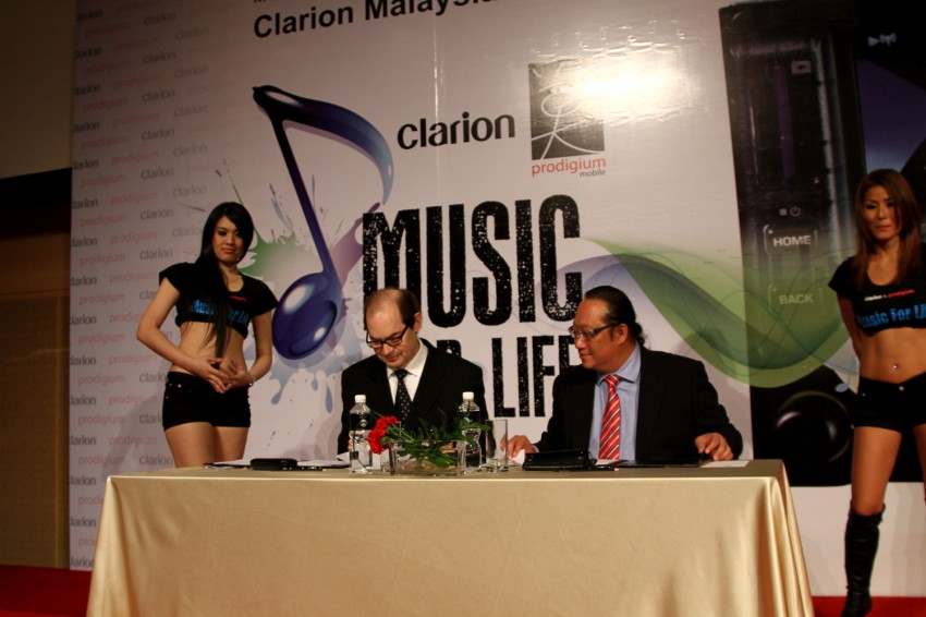 Clarion and Prodigium Mobile sign MoU for in-car DRM-free MP3 music store in Malaysia – 18,000,000 songs! Image #100149